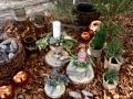Kerzen-Gesteck
